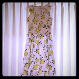 Kate Spade lemon dress